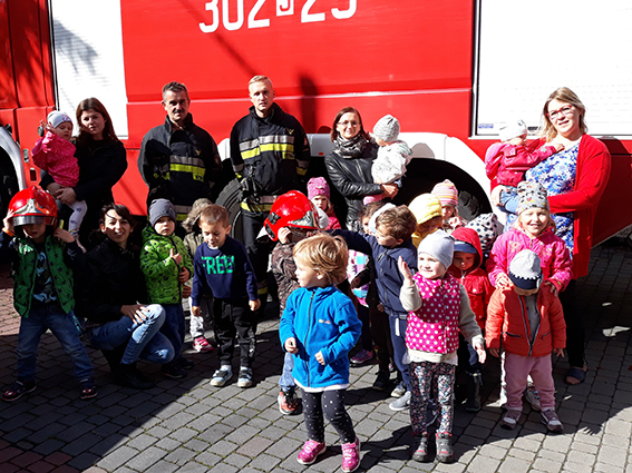 Strażacy w naszym przedszkolu